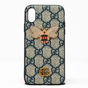 iphone case all models 7,8,X,max,11 jewel bee